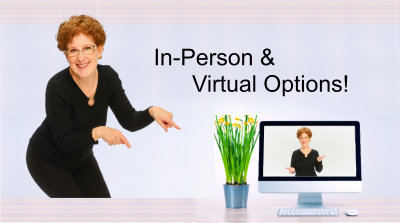 In-Person & Virtual Options!