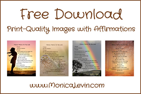 Free Download: Print-Quality Images with Affirmations