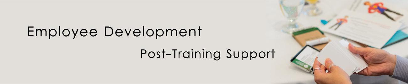 Employee Development – Post-Training Support